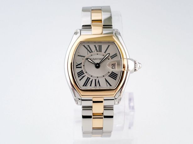 Женские бу часы Cartier Roadster Ladies 37 x 31 мм
