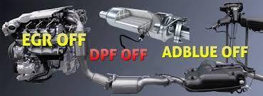 Удаление сажевого фильтра, катализатора, DPF, AdBlue, EGR, чиптюнинг