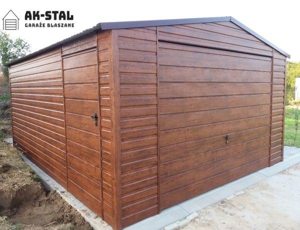 Nowoczesny Garaż Drewnopodobny, Konstrukcja profil zamknięty