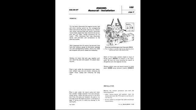 FIAT TRATTORI instrukcje napraw WARSZTATOWE serwisowe!
