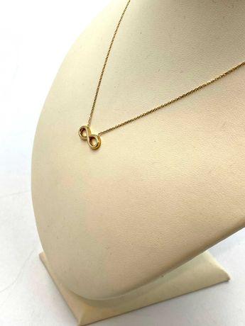 Nieużywany złoty łańcuszek/celebrytka Pr. 585 Waga: 2,05