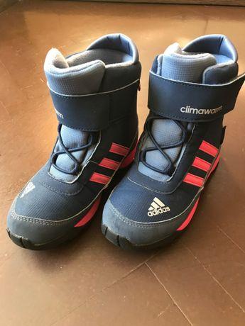 Adidas, зимние детские ботинки