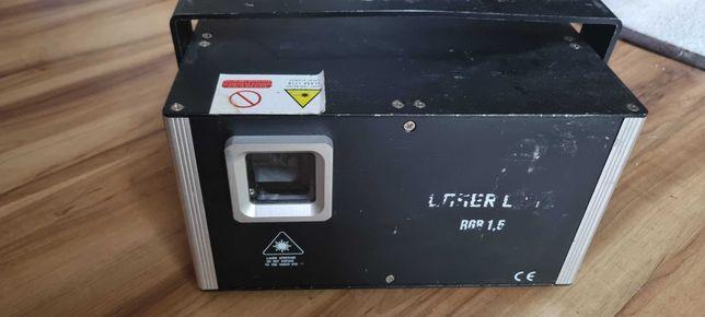 Laser dyskotekowy sceniczny estradowy 1,5W RGB