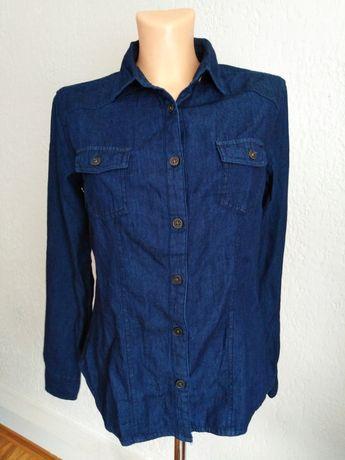 Jeansowa koszula S/36