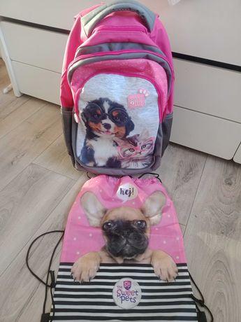 Plecak tornister na kółkach Studio Pets