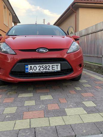 Форд фіеста 2012