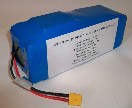 Аккумулятор LiFePO4 36v 6Ah (36в 6Ач)