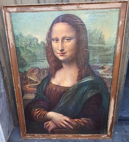 Quadro Mona Lisa 103,5x75,5cm