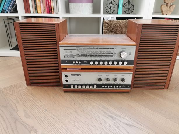 Grundig at40 sv80 vintage zestaw hifi box 412