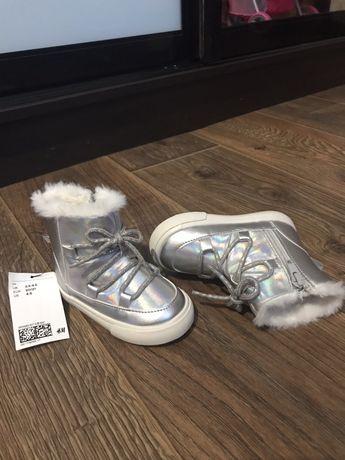 Сапожечки H&M для девочки