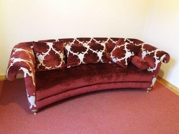 Duża stylowa sofa