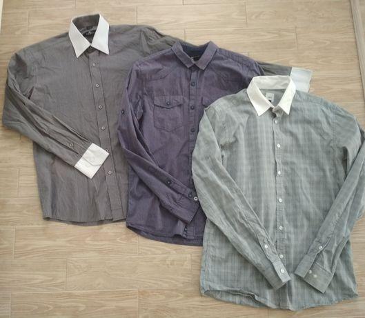 Koszule męskie koszula S M 38/39 cropp