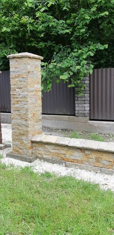 Паркан з натурального каменю
