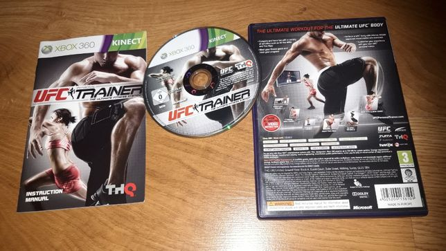 gra x-box 360 UFC Trainer SUPER zabawa i ćwiczenia