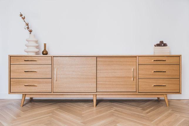Sideboard Nåde dąb szafka rtv komoda mid-century modern duński styl