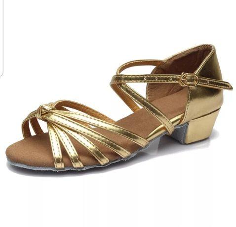Туфли для бальных танцев, новые, 19см