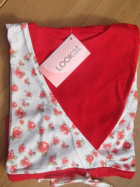 Koszula nocna piżama LookAt ciążowa i do karmienia XL 42 NOWA