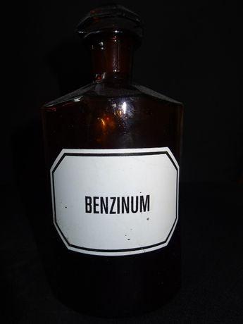 Steinglass butelka apteczna Benzinum benzyna