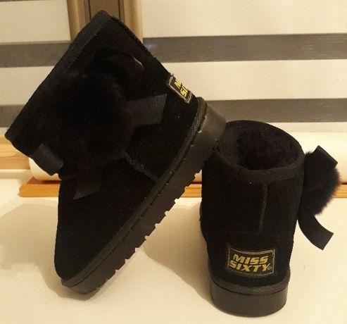Dziewczęce buty zimowe a'la emu Miss Sixty r.28