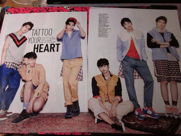 VIXX Korean Ceci Magazyn styczeń 2014 strony kpop