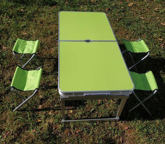 Стол садовий усиленный плюс 4 стула / стіл садовий з стільцями