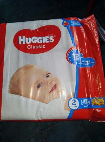 Подгузники Huggies Classic 2 размер, 88 шт