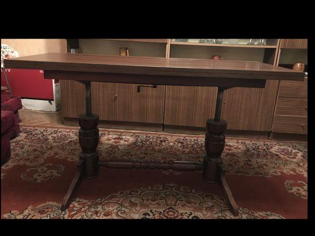 Stół / ława rozkładany drewniany