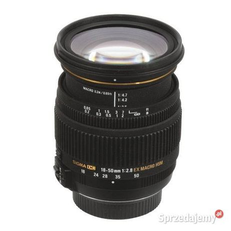 Sigma/Nikon EX DC AF-S 18-50 F2,8D IF HSM MACRO