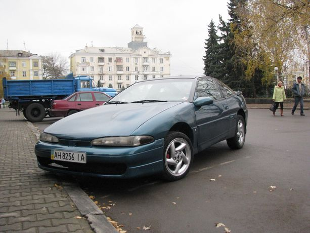 Mitsubishi Eclipse 1993. Газ/бензин 2.0