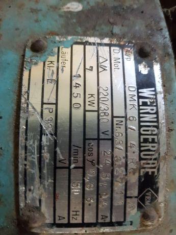 Silnik elektryczny 7kw plus 15 m przewodu