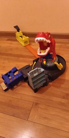 Hot Wheels City Atak T-Rexa Dinozaur T-Rex