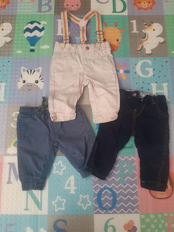 Długie spodnie 62-68 (3-6)