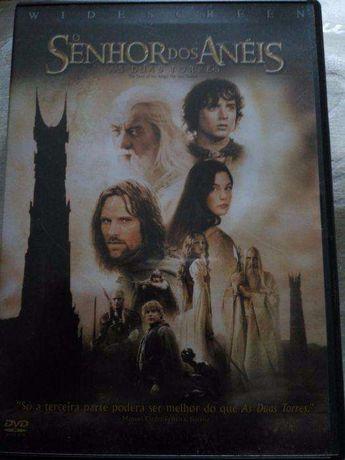 DVD filme Senhor Dos Anéis - As Duas Torres (2 CD´s)