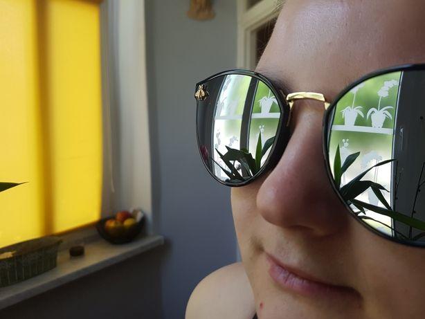 Okulary z muchami