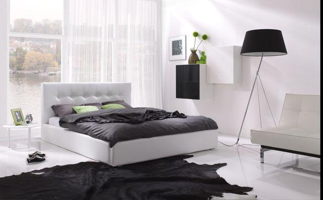 Nowoczesne i uniwersalne łóżko Napoli do sypialni, na wymiar
