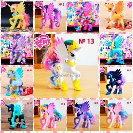 Фигурки Май Литл Пони 15 Видов 14 СМ My Little Pony Селестия, Искорка