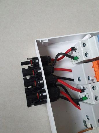 Rozdzielnica PV 2/2 DC/AC C20A 2MPPT dwa stringi