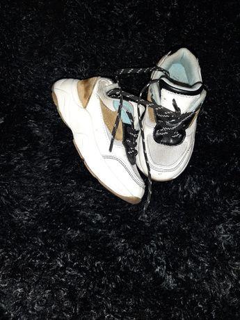 Sneakersy skóra mięciutkie
