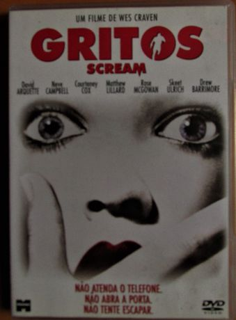 2 DVD - Gritos e Gritos 2 (Scream), como novos