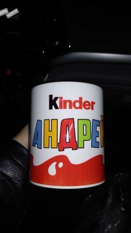 Именная чашка в детский садик