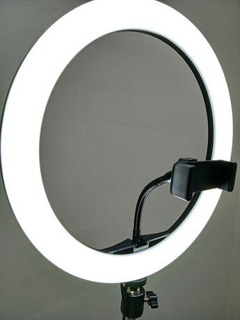 >Кольцевой свет лампа блогера тикток + большой штатив + Подарочек !