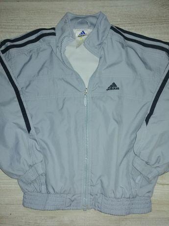 Adidas bluza/kurtka wiatrówka rozmiar 128 cm, Stan idealny