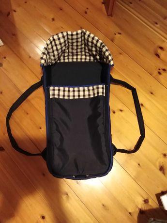 Gondola miękka, nosidełko, torba dziecko