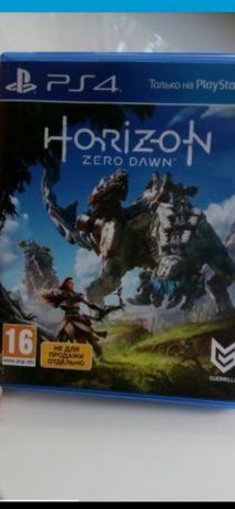 Диск на PS-4 Horizon Zero Dawn