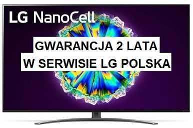 NOWY LG 55NANO867 100Hz NanoCell AI TV ze sztuczną inteligencją GW.24M