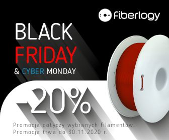Filament Easy PET-G Fiberlogy - Black Week + Cyber Monday 2020 Rzeszów Rzeszów - image 1