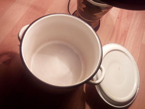 Кастрюля емалированая 3.5 литров