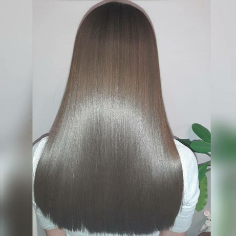 Кератиновое выпрямление, ботокс для волос!