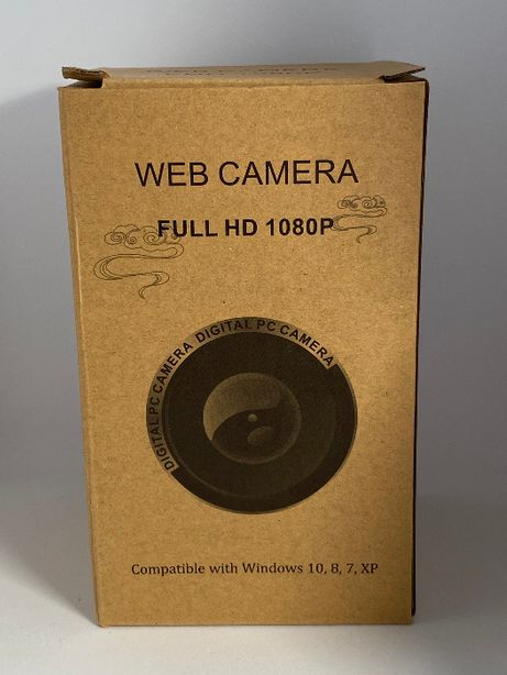 Kamerka Internetowa - Kompatybilna z Windows XP, 7, 8 ,10