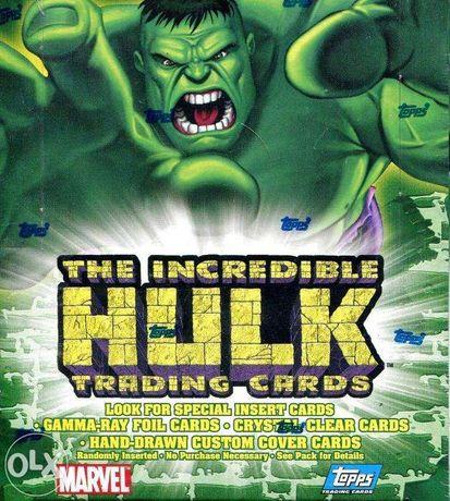 avengers topps hulk karty kolekcjonerskie box zafoliowany NOWA CENA